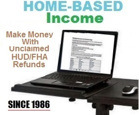 Learn how to work from home processing HUD/FHA refunds.